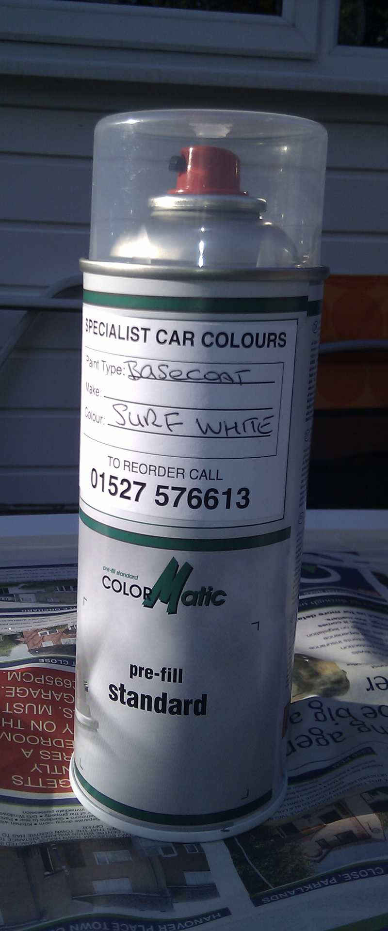 Colour matched paint